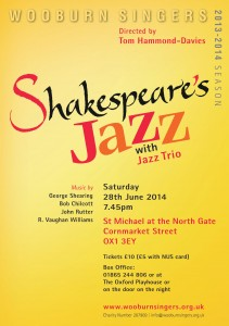 Shakespeare Jazz Oxford